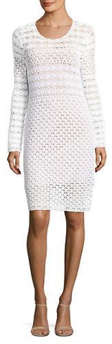 MICHAEL Michael KorsMichael Kors Crochet Sweater Dress