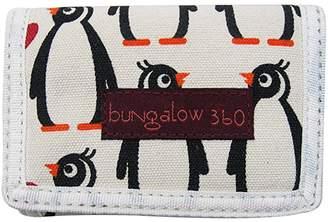 Bungalow 360 Bungalow360 Penguin Vegan Tri-Fold Wallet