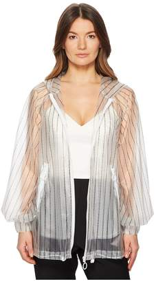 Sportmax Posato Transparent Transforming Jacket