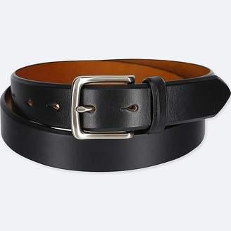 Uniqlo Men's Italian Saddle Leather Belt