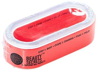 Beauty Secrets Round 3 Way Nail Buffer