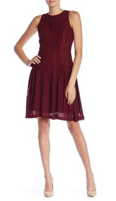 Gabby Skye Sleeveless Lace Dress