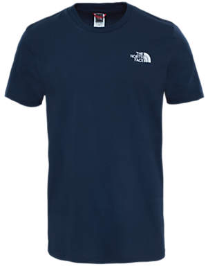 The North Face Short Sleeve Dome T-Shirt, Urban Navy/White