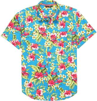 Stoic Blue Hawaiian Shirt - Men's