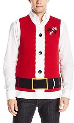 Ugly Christmas Sweater Men's Santa Vest