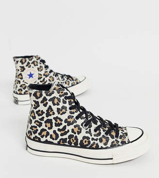 Converse Chuck '70 leopard print trainers