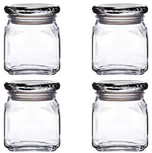 Anchor Hocking Emma Jar with Glass Cover
