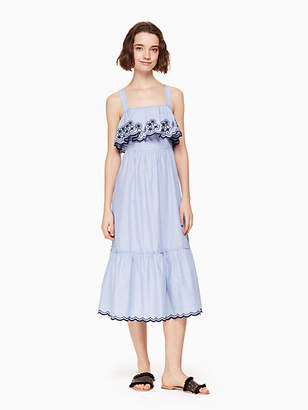 Kate Spade Daisy embroidered patio dress