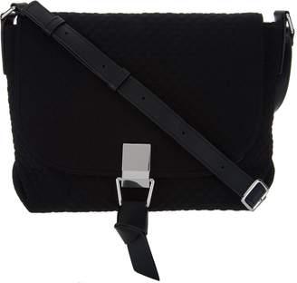 Vera Bradley Microfiber Carson Top Handle Crossbody Bag