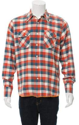 Nudie Jeans Gingham Button-Up Shirt