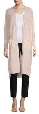 Donna Karan Long Sleeve Duster Cardigan