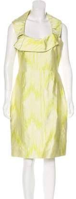 Lela Rose Printed Sheath Dress w/ Tags