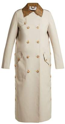 BEIGE Gabriela Hearst - Claremont Reversible Trenchcoat - Womens Multi