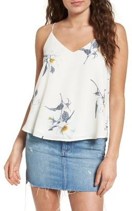 Women's Astr The Label Lace-Up Camisole $59 thestylecure.com