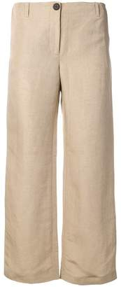 Aalto cropped flared trousers