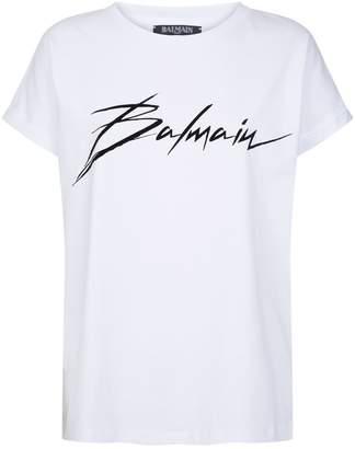 Balmain Signature Logo T-Shirt