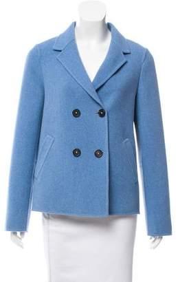 Massimo Alba Wool Double-Breasted Jacket