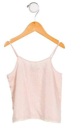 Caramel Baby & Child Girls' Striped Sleeveless Top