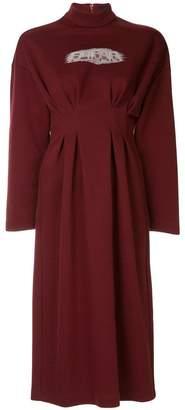 G.V.G.V. pleated waist dress