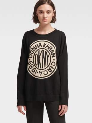 DKNY Token Logo Pullover