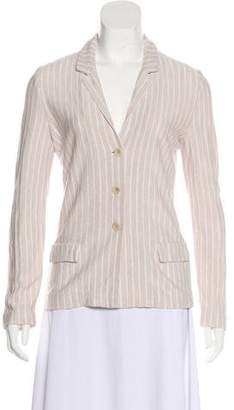 Amina Rubinacci Striped Knit Cardigan