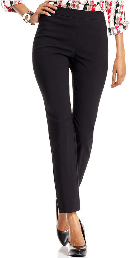 Style&Co. Pants, Skinny Pull-On