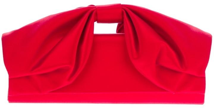 Valentino Garavani bow clutch