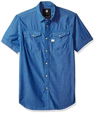 G Star Men's Tacoma Deconstructed Shirt S/s