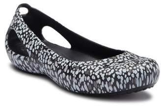 Crocs Kadee Graphic Slip-On Flat