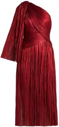 Maria Lucia Hohan Aquila one-shoulder silk dress