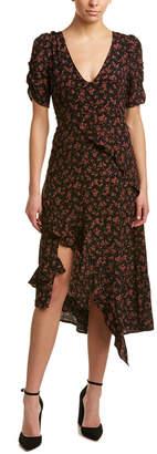 Honey Punch Ruffled Maxi Dress