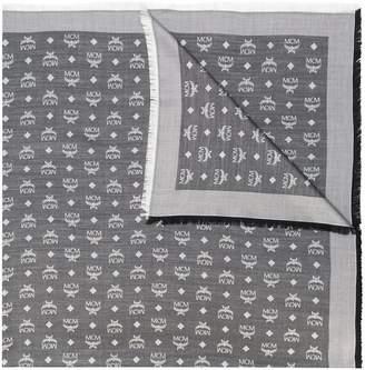 MCM monogram print scarf