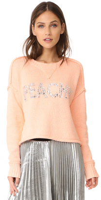 Wildfox Peachy Sweater $194 thestylecure.com