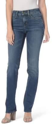 NYDJ Marilyn Stretch Straight Leg Jeans (Westland) (Regular & Petite)