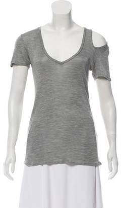 Isabel Marant Short Sleeve Cutout Top