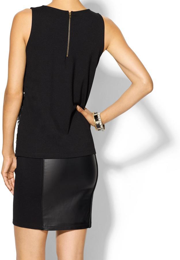 Juicy Couture Sabine Crochet Lace Top
