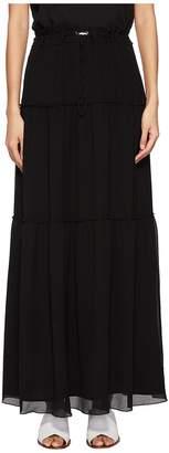 Versace Layered Long Skirt Women's Skirt