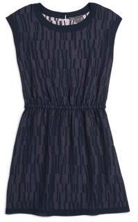 Girl's Printed Chiffon Dress $128 thestylecure.com