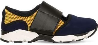 Marni Junior Mesh & Neoprene Sneakers