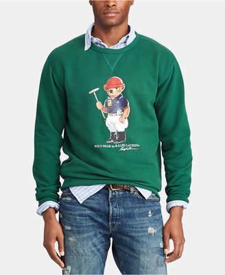 8fb3877b Polo Ralph Lauren Men Big & Tall Polo Bear Fleece Sweatshirt