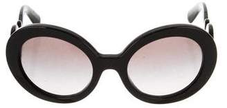 Prada Baroque Round Sunglasses