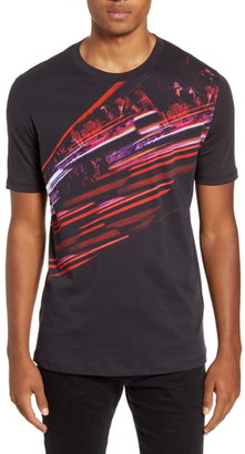 HUGO Dallpaper North Cotton Crewneck T-Shirt