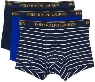 Polo Ralph Lauren logo stripe boxers