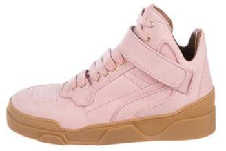 Givenchy Tyson High-Top Sneakers Pink Tyson High-Top Sneakers