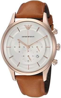 Emporio Armani Men's Quartz Stainless Steel Dress Watch