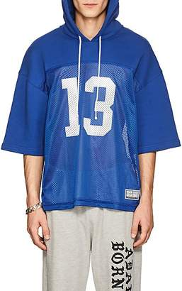 ADAPTATION / BORN X RAISED Men's Cotton Hooded Football Jersey