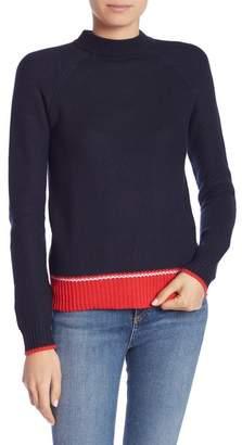 Joe Fresh Mock Neck Knit Pullover