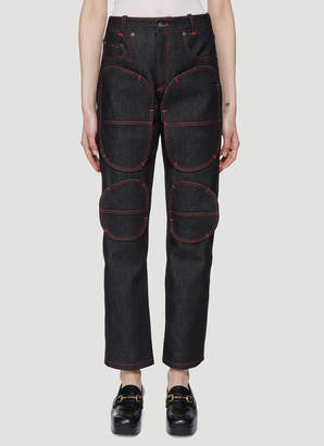 Vaquera Football Jeans in Blue