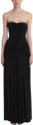 Alexander Wang Ruched Bodice Gown Dress
