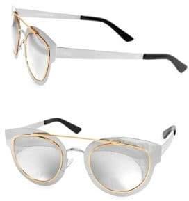 Cat Eye JOLENE 49MM Browline Cateye Sunglasses